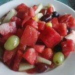 Fruit from buffet