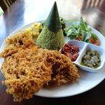 Pandan rice set