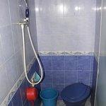 Bathroom. No hot water.