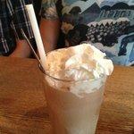a chocolate shake :)