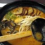 Ajisen BBQ Pork Ramen soup - same thing from Sheppard and Yonge location