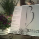 Our menu at La Brasserie awaits you....