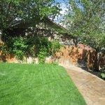 Wonderful extensive back garden