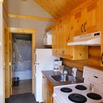 Kitchenette, check the dishes before using