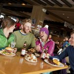 Lunch time at the Ski HIll Grill