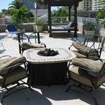 Granada Rooftop lounge area