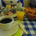 Breakfast at Les Ecrins