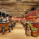 Mad Mex Bar area
