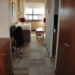 Suite from door