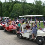 4th of July Golf Cart Parade