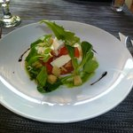 it is a perfect little meal for the summer terrasa
