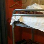 Bunk bed in 4-girl dorm room