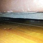 pó debaixo da cama