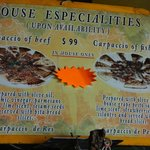 house specialities