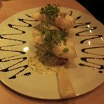 Pancetta wrapped monkfish