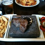 The very tasty Black Rock Steak!!