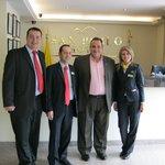 Con Los Ejecutivos del Hotel San Pablo
