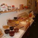 More breakfast buffet