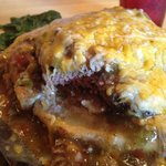 Green Chili Burger, Delicious!