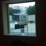 la meravigliosa panoramica della zona motori che ha allietato il nostro soggiorno