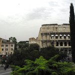 View from parc Colle Oppio on 2nd Floor and Colosseo