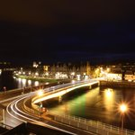 Nightime view of Inverness