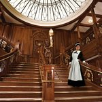 Walk the Grand Staircase at the Titanic Museum Attraction in Pigeon Forge, Tn.
