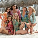 Girls at the beach in our tunics