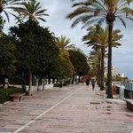 Marbella beachfront near by