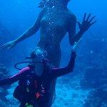Me and the mermaid...