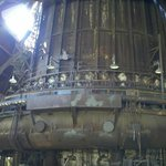 Outlet of sole remaining intact furnace - Carrie #6