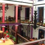 Restaurant, seción colonial.