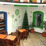 Restaurante, sección colonial.