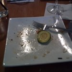 The Salmon was so good I couldn't get a photo fast enough ...