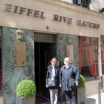 Here we are in Paris at the Eiffel Rive Gauche