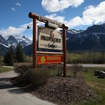 Easy to find and on the main road going into Canmore