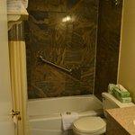 New tiled shower