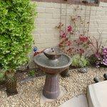 Serenity Fountain that Doubles as a Birdbath
