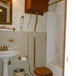 """Modernized"" water closet!"