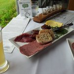 warming ploughmans lunch on a cool autumn day