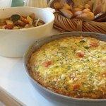 Roasted Organic Vegetable Frittata