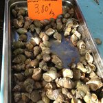 Saturday's farmer's market -seafood