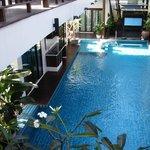 room on the pool..