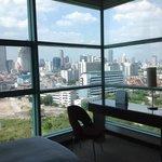 vue de la chambre 1402