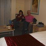 interior motel room