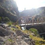 Vehicle Cross Bridge