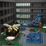 Kids playground at 8/F, with staff to look after kids and the facilities.