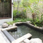 geothermal jacuzzi in all villas