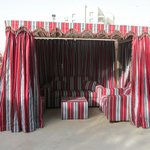 Cabana for that special evening by the pool