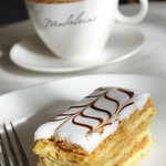 Madeleine Cafe & Boulangerie - Mille Feuille and Coffee